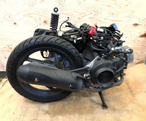 DIO110 エンジン
