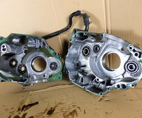 XLR250R クランクケース
