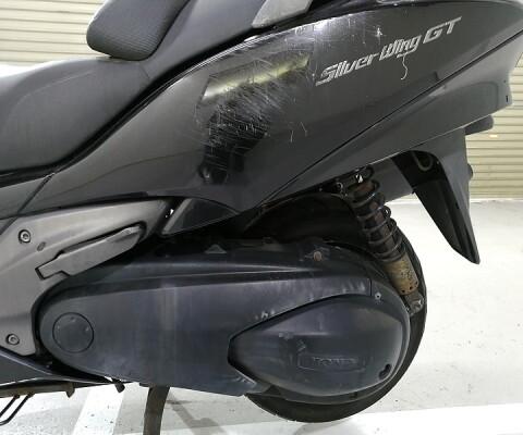 SILVER WING 400 GT
